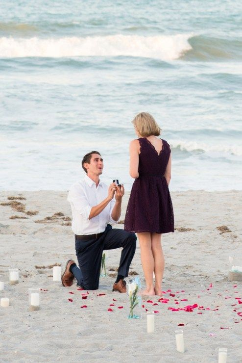 Propose at Sea